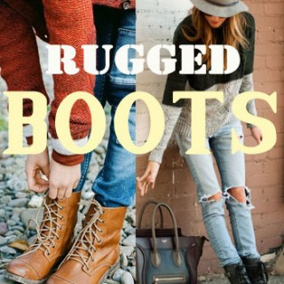 rugged boots: am i cool enough?