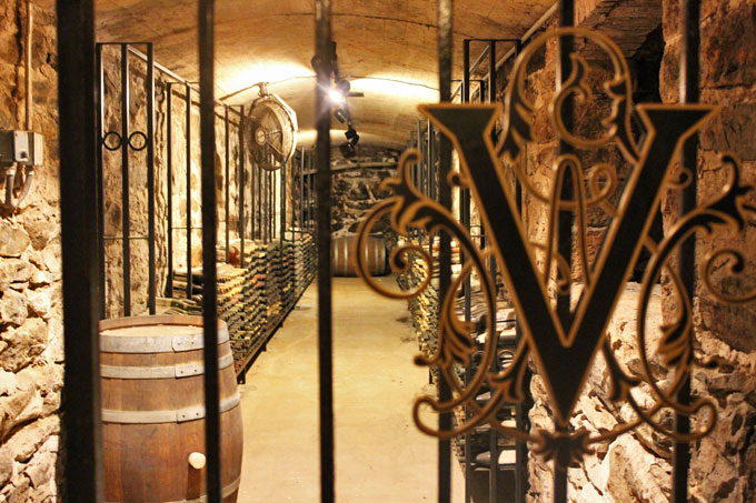 Biltmore winery cellar