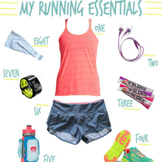 my running essentials